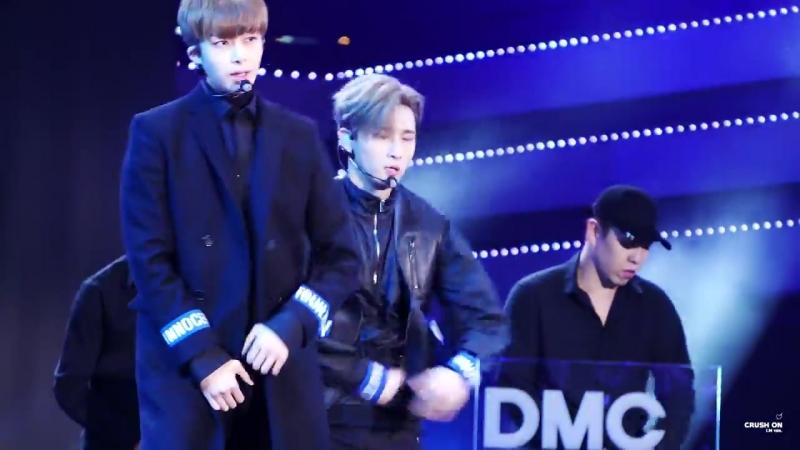 [VK][161008] MONSTA X fancam - All In (I.M focus) @ DMC Korean Music Wave Festival