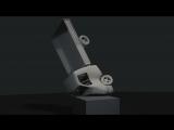 Простая физика мягких тел в Blender