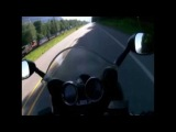 Video: Motorcyclist Crashes Into Bear in Canada