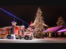Санта Клаус и Грузовик Кока Колы встретились на Полярном круге.