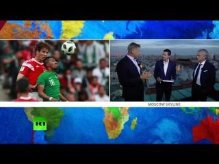 Спецэфир RT c Моуринью после триумфального матча Россия — Саудовская Аравия: LIVE