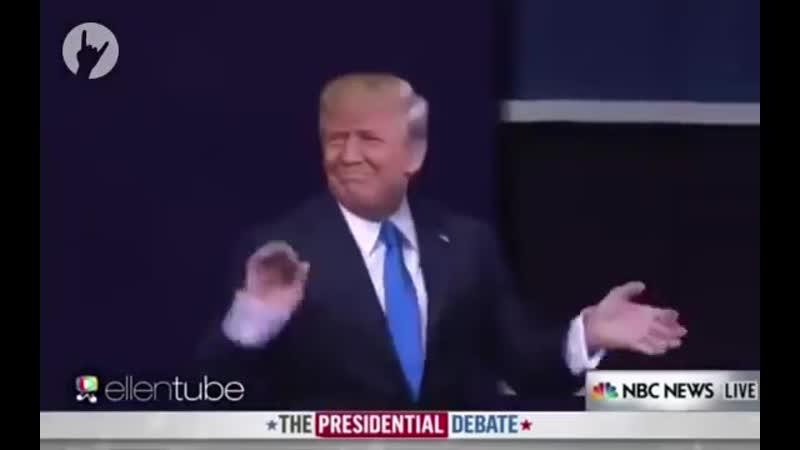 Минутка юмора׃ Путин, Клинтон иТрамп — дебаты сквозь призму хореографии