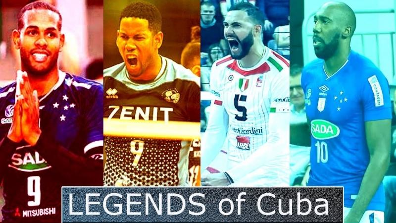 LEGENDS of Cuba - Mens Club World Championship - Leon, Leal, Simón, Juantorena