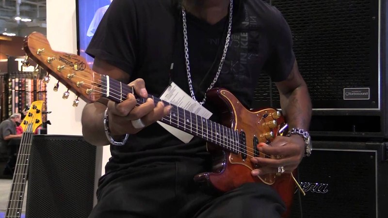 Summer NAMM Solo Jam with Eric Gales Part 3