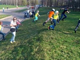 Детское ориентирование - Гарри поттер 2014 - на участке Почтибезголового Ника