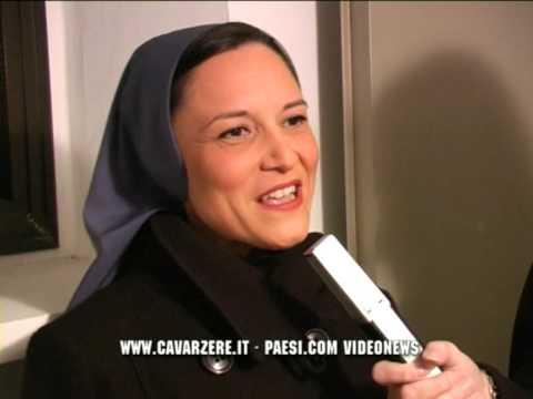 Suor Anna Nobili da cubista a religiosa - lap dance girl becomes a nun