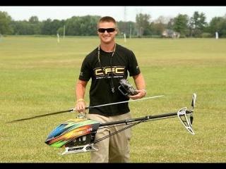 Alan Szabo Jr. and Nick Maxwell IRCHA 2014 Dual Demo Flight Trex 800 and Raptor E700