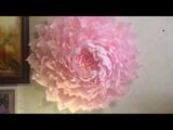 Ростовой цветок на стену. Отличный подарок на день рождение.