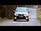 EUROSPORT Test drive the WRX STI in Stockholm - RU