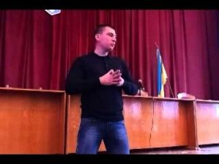 Юрій Михальчишин, лекція про Листопадовий чин.