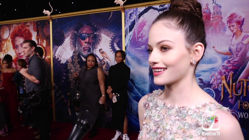 Mackenzie Foy interviews for The Nutcracker and The Four Realms