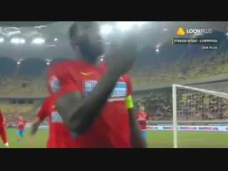 Steaua bucuresti 1-0 astra giurgiu  rezumat