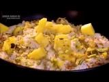Рисовый пудинг с манго, лаймом и кокосом