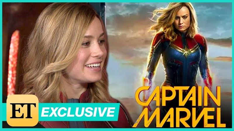 Captain Marvel ET Visits the Set With Star Brie Larson! (Exclusive)