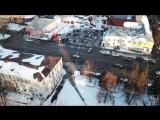Квадрокоптер DJI Mavic Pro пробный полет г Гусь Хрустальный центр.