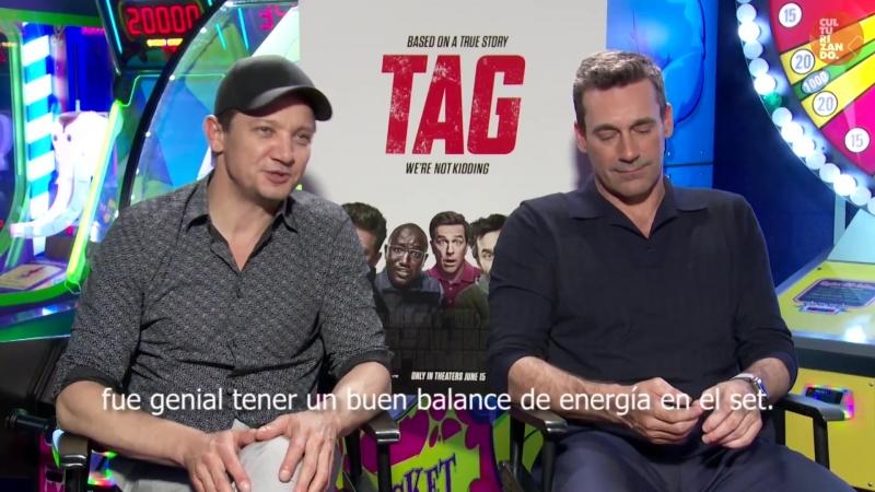 TAG con Jeremy Renner y Jon Hamm