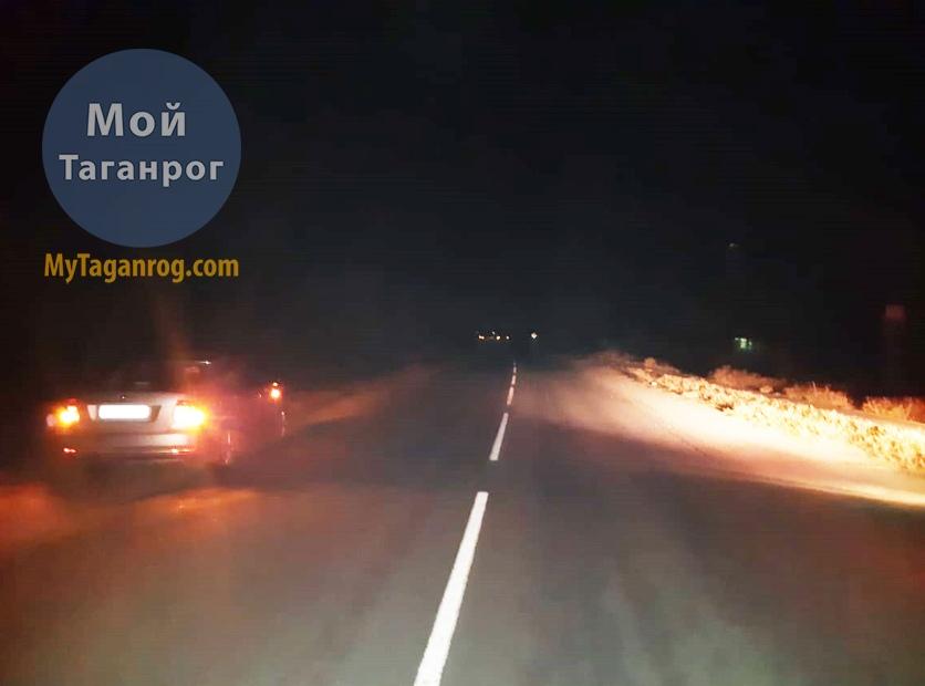 Под Таганрогом водитель Volkswagen Polo сбил 41-летнего мужчину