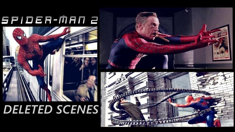 Spider-Man 2 Deleted - Extended - Alternative Scenes