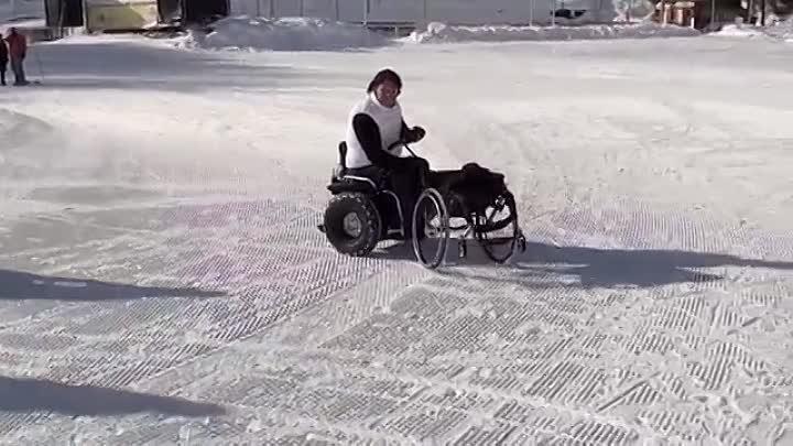 Genny Mobility Sistema di trasporto carico scarico Genny Segway wheelchair