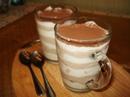 Шоколадно-творожный десерт