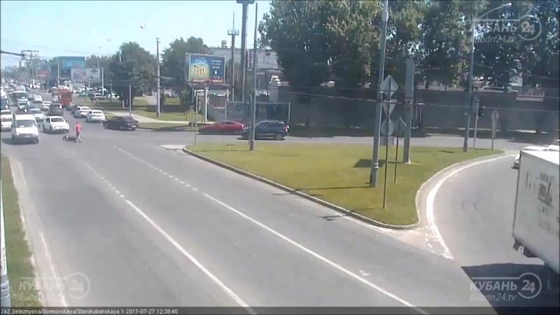 ДТП на ул Селезнёва и ул Старокубанская
