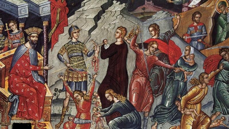 Слово в день памяти Давида Царя, Иосифа Обручника и апостола Иакова, брата Господня