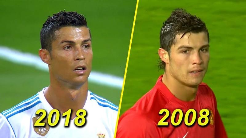 Cristiano Ronaldo 23 Years Old vs 33 Years Old