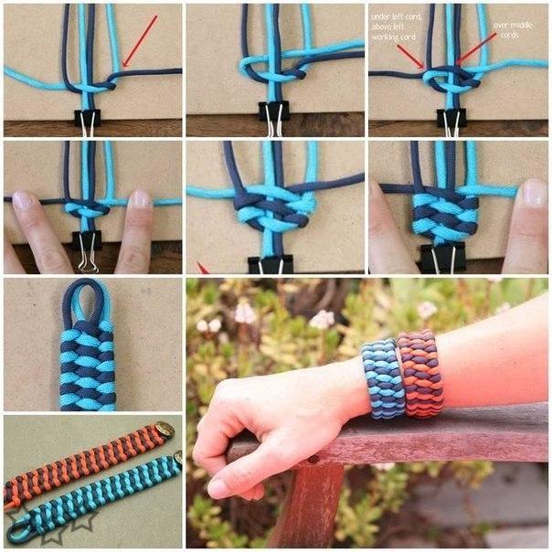 Плетенный браслет.