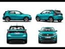 Volkswagen T Cross Genel görünüm iç dış tasarım tanıtım videosu