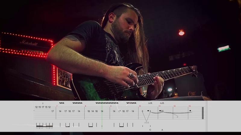 SIRENIA - The Twilight Hour (Guitar Solo Playthrough) | Napalm Records