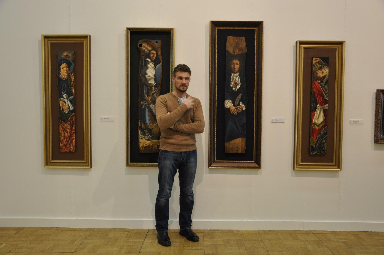Украинский художник Андрей Коваленко.