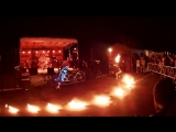 Lemar Bike-Party. Russian Choppers Fire show