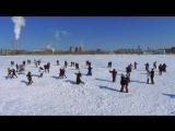 Танцевальный флешмоб с неожиданным финалом в день выборов в Екатеринбурге