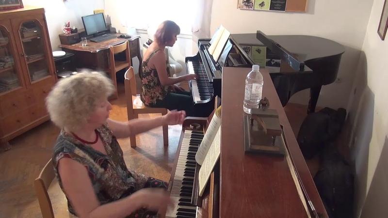 04.07.2018 Mira Marchenko's master-classes. Gloria Kim. Trogir Music School, Croatia