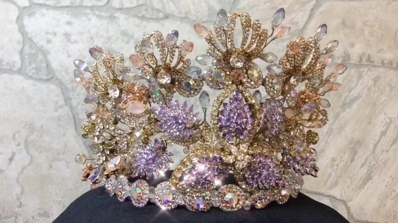 Ждет свою Королеву Эксклюзивная корона для Королевы выпускного бала от российского дизайнера Татьяны Мельник - бренд «Тайм де