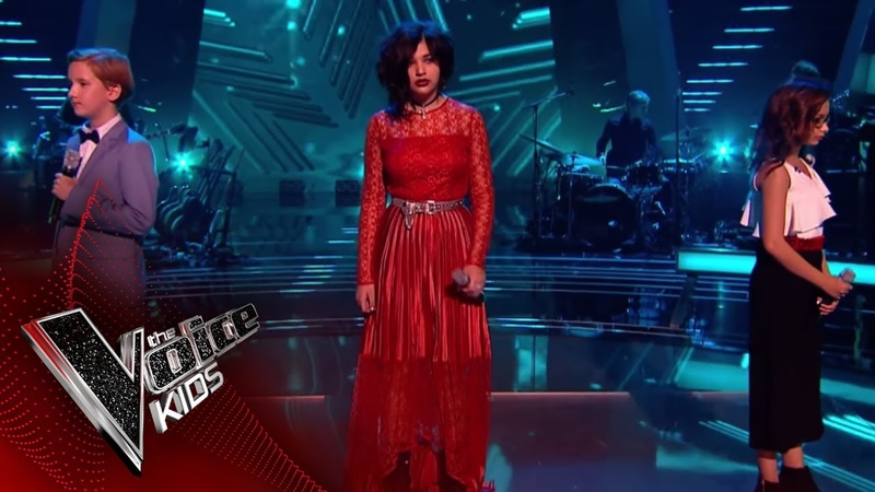 Persia, Yaroslav and Natasha Perform Bring Me to Life Battles 1   The Voice Kids UK 2018