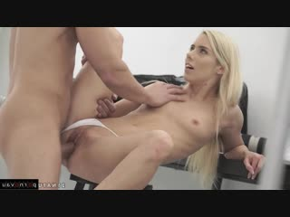 Nesty nice & lukas lutro [ blondes / cunnilingus , shaved , riding dick , cumshot in mouth]