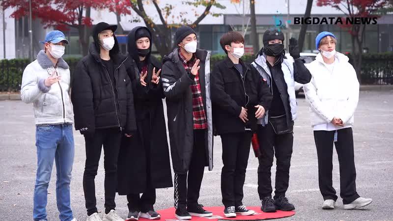 [VK][181116] MONSTA X fancam arrived at Music Bank @ Ent빅데이터뉴스