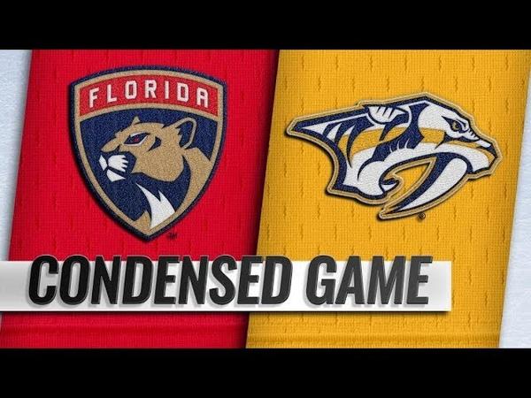 Florida Panthers vs Nashville Predators | Jan.19, 2019 | Game Highlights | NHL 201819 | Обзор матча