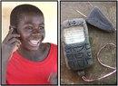 Глиняные телефоны африканских детей