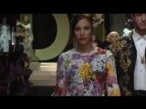 Monica Bellucci, Eva Herzigova and Carla Bruni for Dolce Gabbana SS 2019