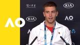 Borna Coric press conference (3R) Australian Open 2019
