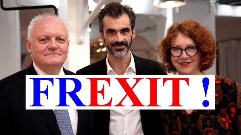 Sur Arte, François Asselinau montre que l'UE ne peut perdurer (Raphaël Enthoven, UPR, Frexit)