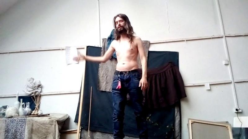 Ярослав Кукольников 38 Отрывок ария Христа натурщик МиЬ 2