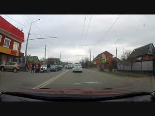 Сбили девушку на Алма-Атинской.. 1.02.2019