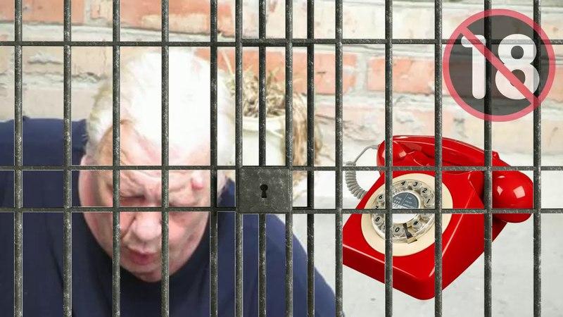 Технопранк - Тётя Валя (тюремщица) обзванивает русских эмигрантов