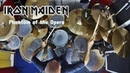 Iron Maiden - Phantom of the Opera - Clive Burr Drum Cover by Edo Sala with Drum Charts