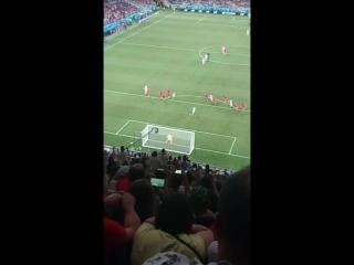 Англия Тунис пенальти Волгоград арена
