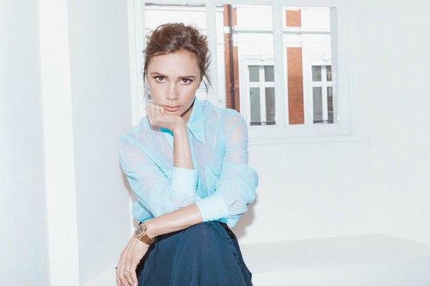 Виктория Бекхэм показала, как носить лавандовые оттенки этой весной
