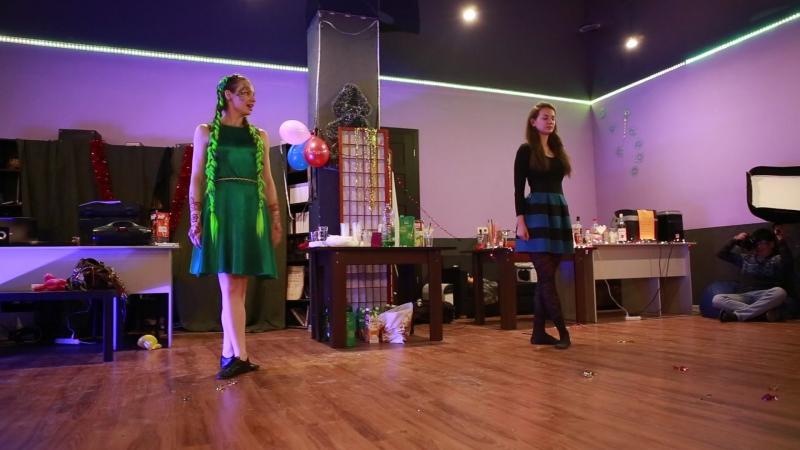 Ирландские танцы у Юли на Д.Р.